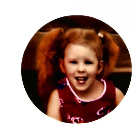 Me as a little girl