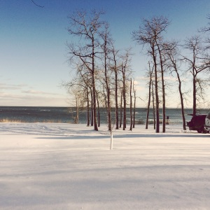 The stark beauty of Lake Superior in winter